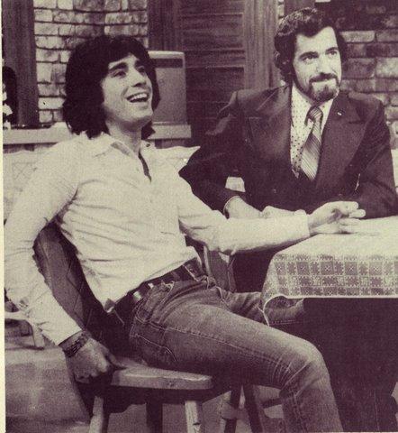Yvan Ducharme dans le téléroman les berger avec Steve Fiset Claudine chatel et Rita Bibeau en 1973