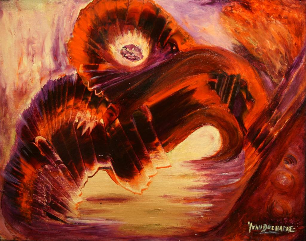 Yvan Ducharme peintre abstrait 121- L