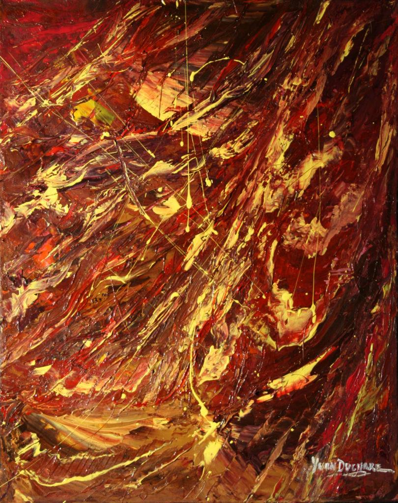 Yvan Ducharme peintre abstrait 125- L