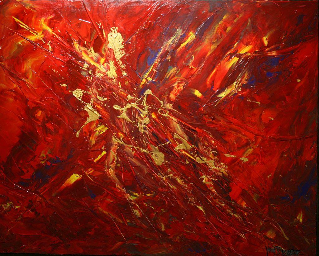 Yvan Ducharme peintre abstrait 206- L