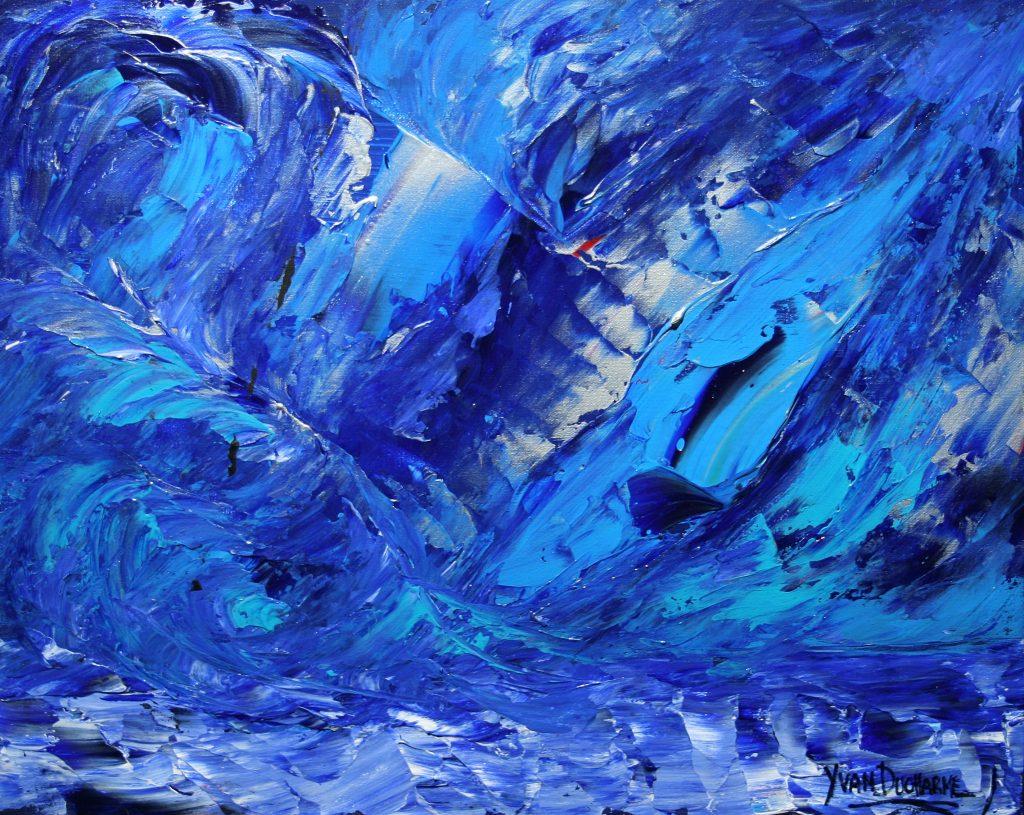 Yvan Ducharme peintre abstrait 210- D