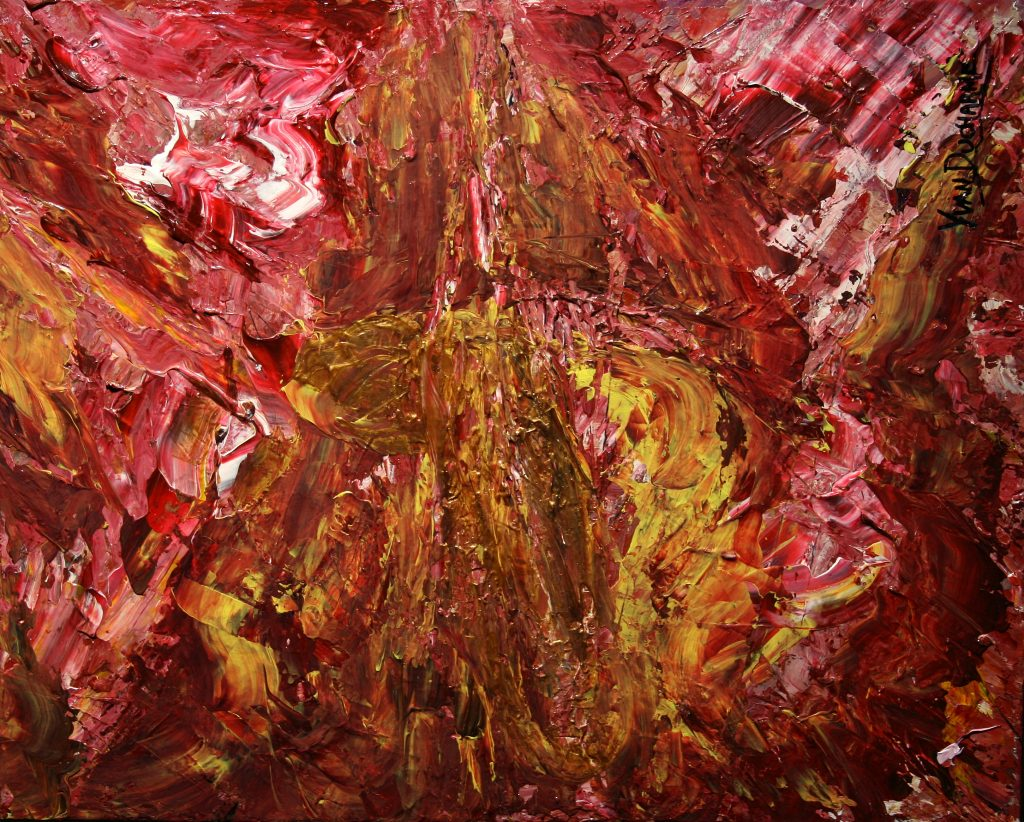 Yvan Ducharme peintre abstrait 214- L