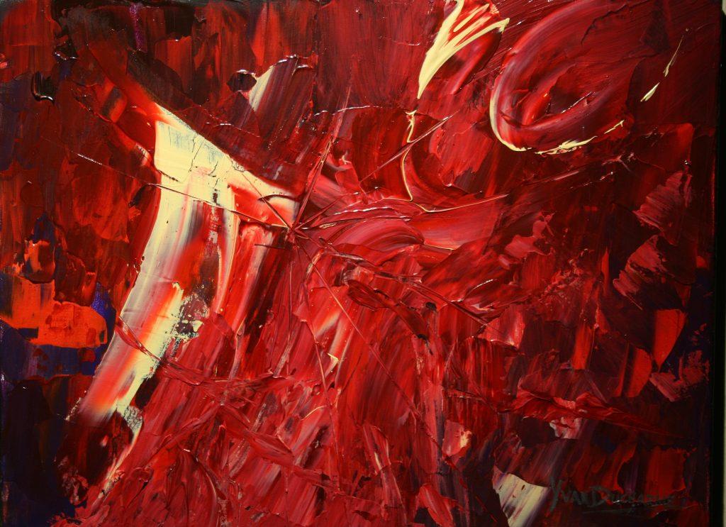 Yvan Ducharme peintre abstrait 243- Nuits d