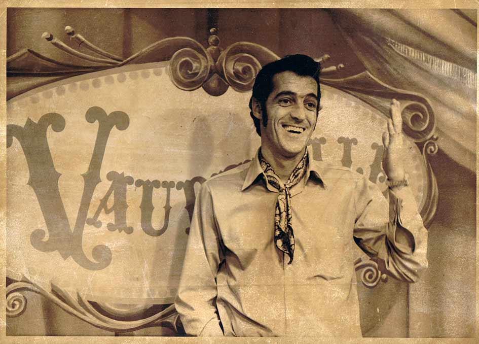 Yvan Ducharme dans émission vaudeville à cftm télémétrople tva 1971