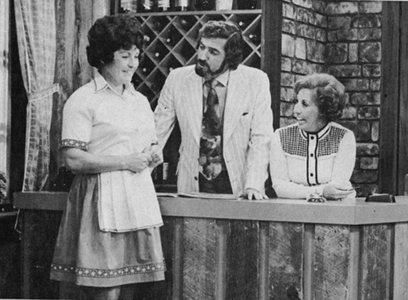 Yvan Ducharme dans le téléroman les berger avec Steve Fiset Claudine chatel et Rita Bibeau en 1972